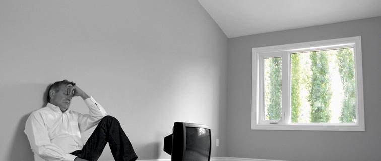 Afbeelding van huisuitzetting man